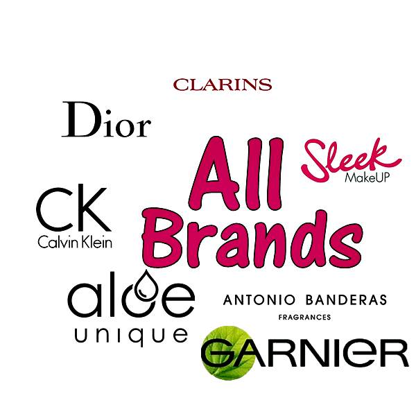 All Beauty Product Brands