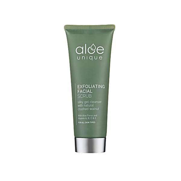 Aloe Unique Exfoliating Facial Scrub 75ml