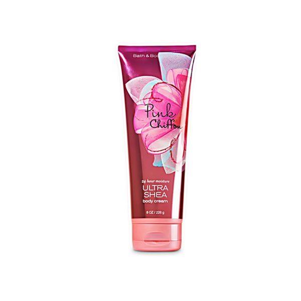 Bath and Body Works Pink Chiffon Body Cream 226gms