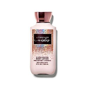 Bath and Body Works A Thousand Wishes Body Lotion Shea and Vitamin E 236ml