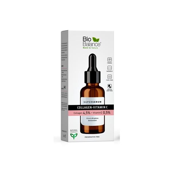 Bio Balance Super Serum Collagen With Vitamin C 30ml