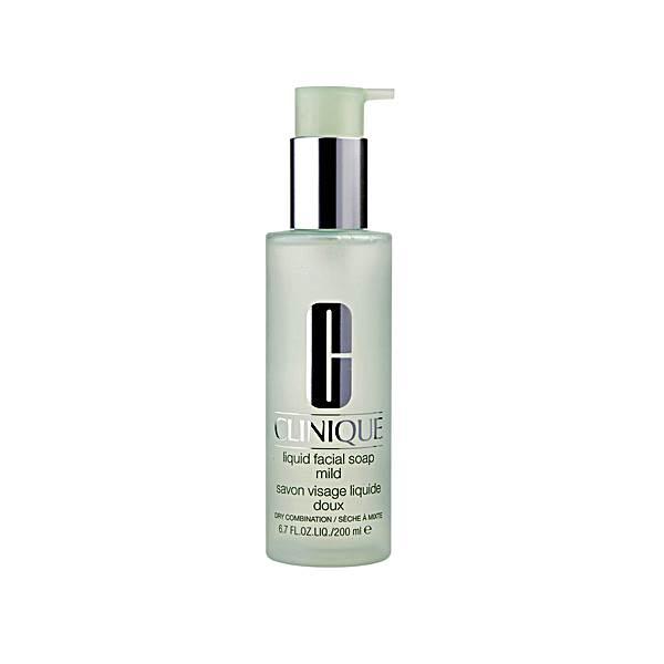 Clinique Liquid Facial Soap 200ml - Mild, Extra Mild, Oily