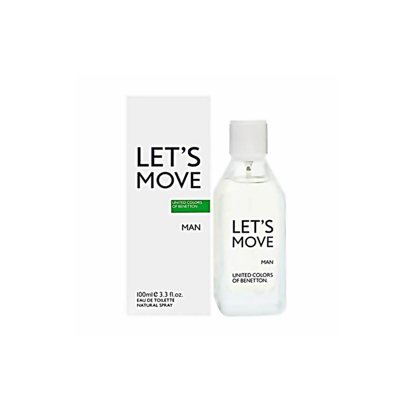 United Colors of Benetton Lets Move Perfume